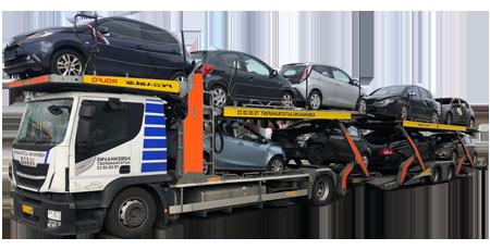 autotransport af biler i hele Danmark