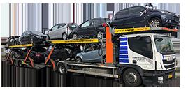 transport af biler i hele Danmark